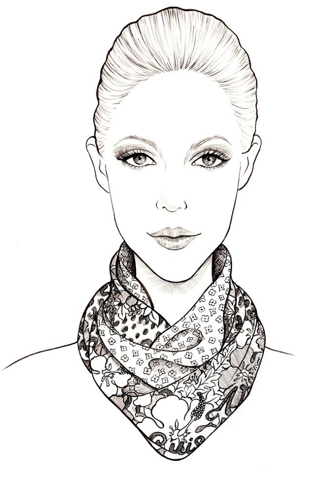 Louis Vuitton Scarves Sunny Gu