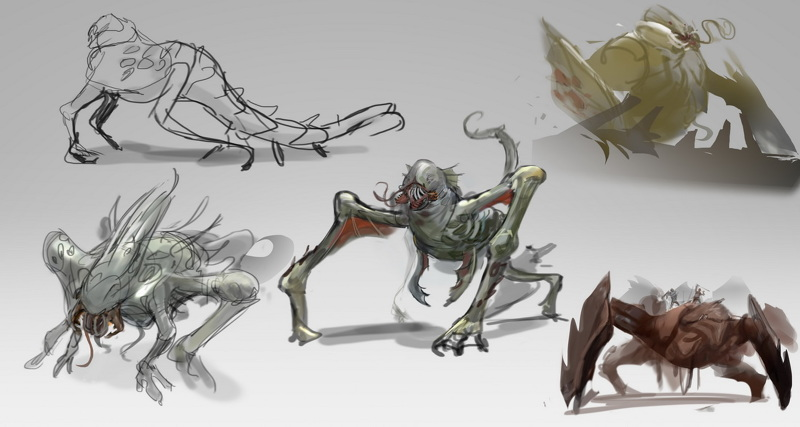 monsters  u0026 creatures design