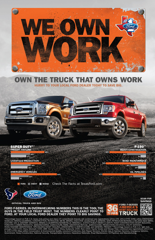 Ford Print Ads - brandonpickett